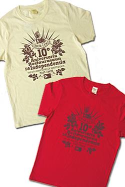 PWJオリジナル東ティモール独立10周年記念Tシャツ