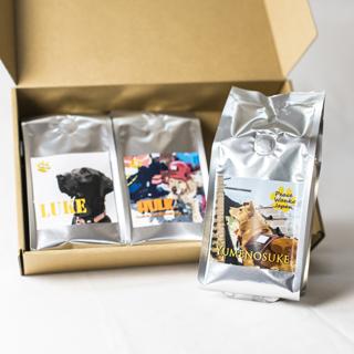 画像1: ワンコ事業応援レギュラーコーヒー粉3パックギフト (1)