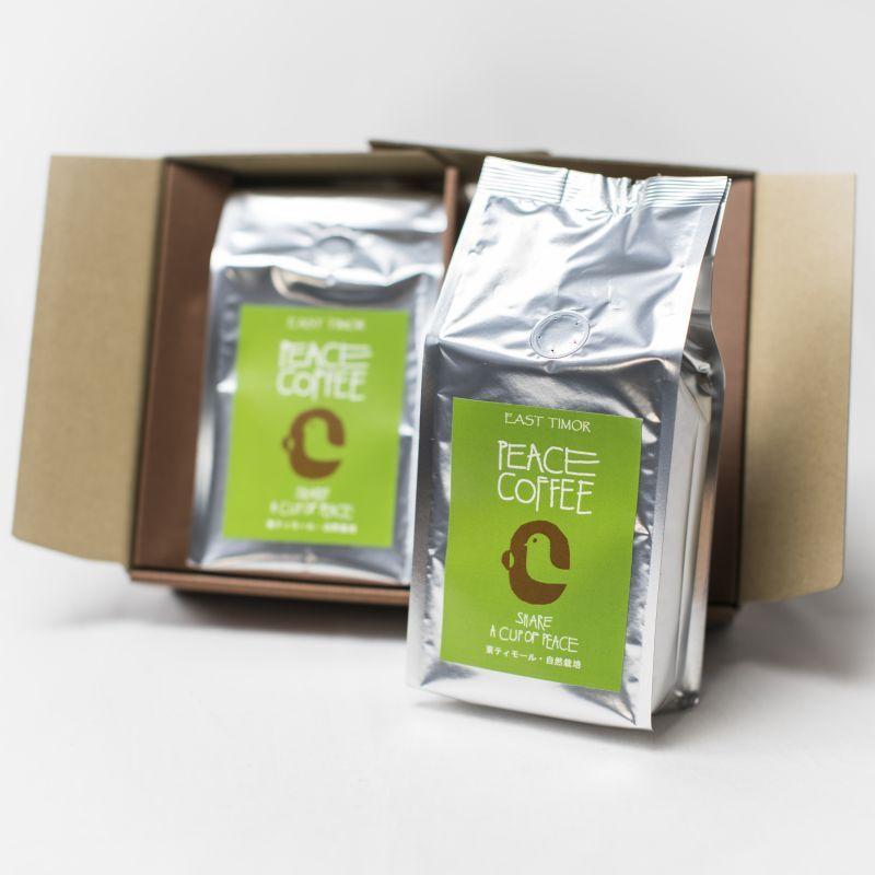 画像1: 有機東ティモールピースコーヒーセット2袋入り  (1)