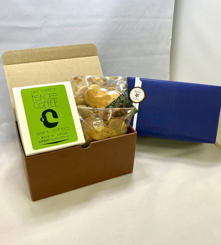 画像1: 【予約商品:7月中旬頃より順次発送】ピースコーヒー&クッキーセットA (1)