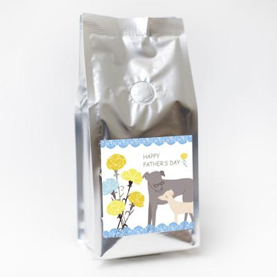 画像1: ワンコ応援!父の日レギュラーコーヒー粉200g (1)